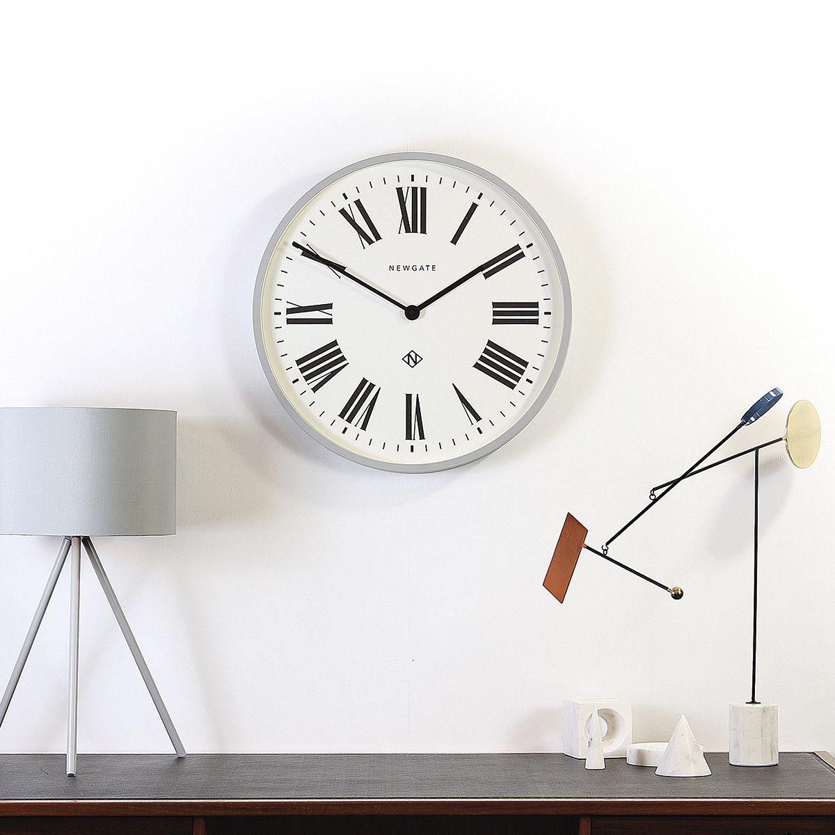 World Style Shots Newgate ItalianWall Clocks Grey qzMVSpU