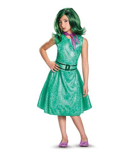 Disguise Inside Out Disgust Dress-Up Set - Kids zulily Halloween - halloween teen costume ideas