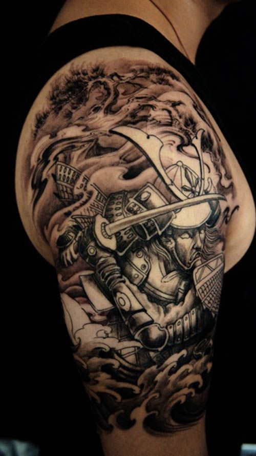 Warrior Half Sleeve Tattoos For Men Car Tuning Cool Shoulder Tattoos Half Sleeve Tattoos For Guys Tattoo Sleeve Men