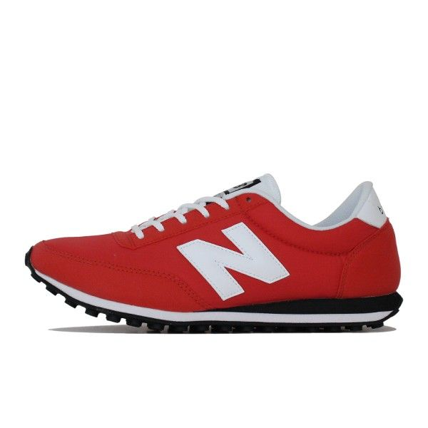 new balance 410 red and white background