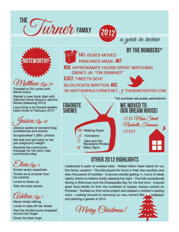 Infographic Christmas Letter The Mom Creative Christmas Lettering Christmas Letter Template Holiday Lettering