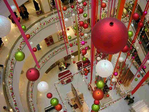 christmas storefront decorations  Peter Jones London  I Love
