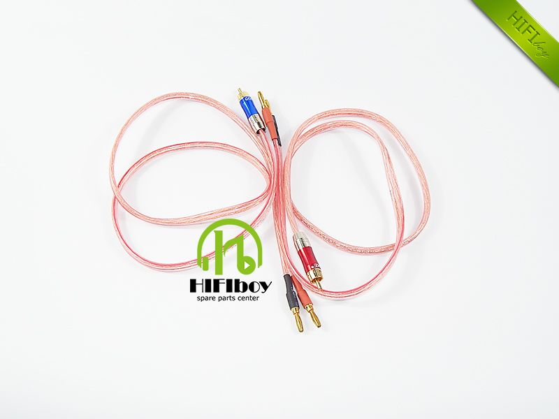 hifi cable HIFIboy Speaker Cable Speaker Wire Copper Gold-plated ...