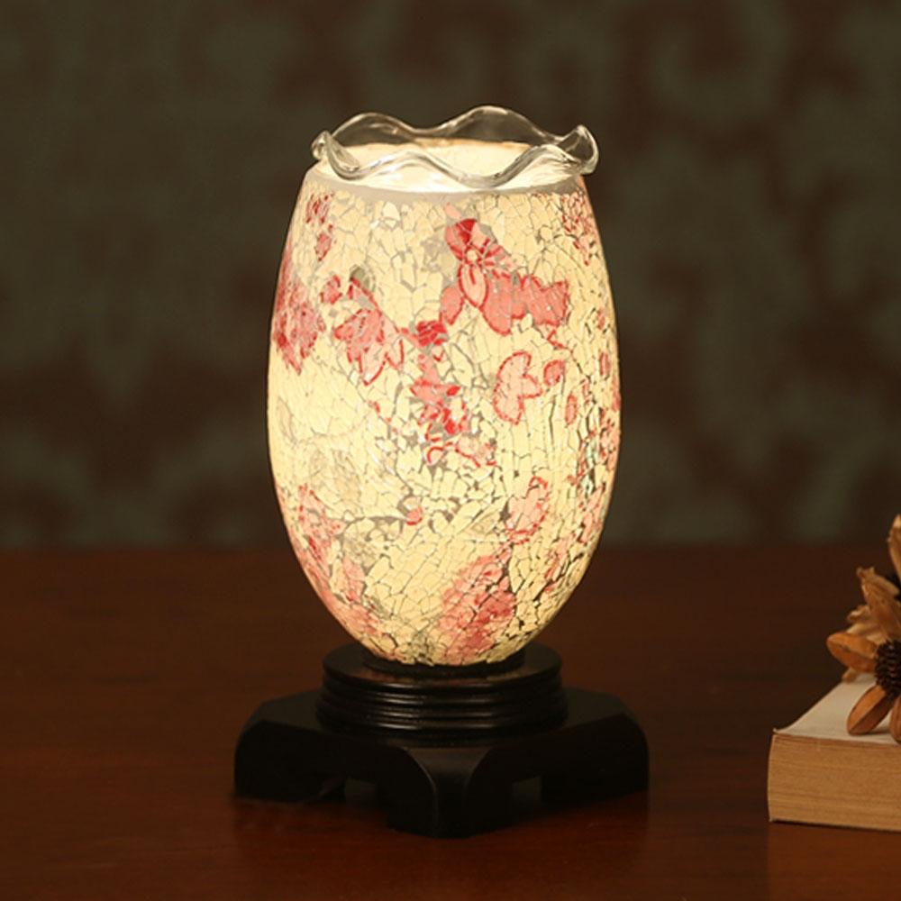 89.25$  Buy here - http://ali80a.worldwells.pw/go.php?t=32778190437 - Switch Button 110V-240V Bedroom Crystal Salt Aromatherapy Living Room Study Led Desk Lamp Handmade Glass Process Salt Lamp 89.25$