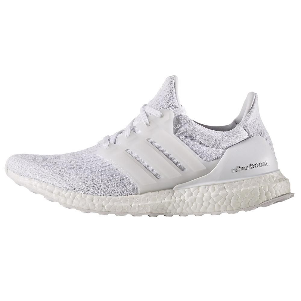 Adidas Ultra Boost 3 0 Triple White Running Shoes For