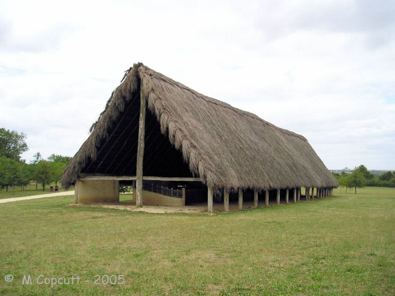Outside The Museum Is A 40 Metre Long Neolithic Longhouse And Other Structures Based On Nearby