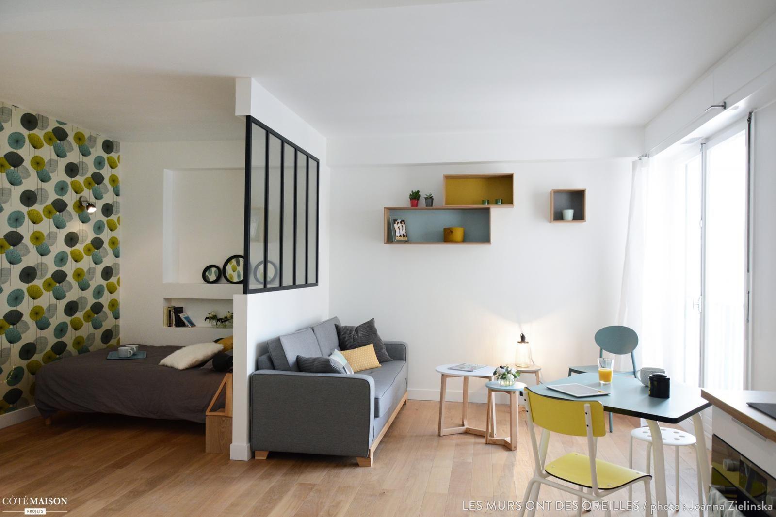Comment créer un coin nuit dans le séjour    Petit appartement ...