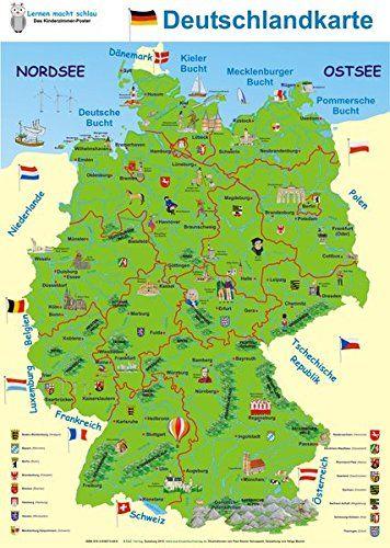 Deutschlandkarte Deutschlandkarte Italien Karte Kalabrien Italien