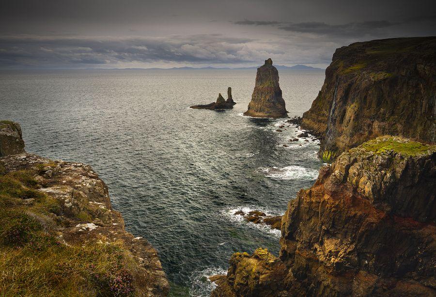 MacLeods Maidens, Isle of Skye, Scotland