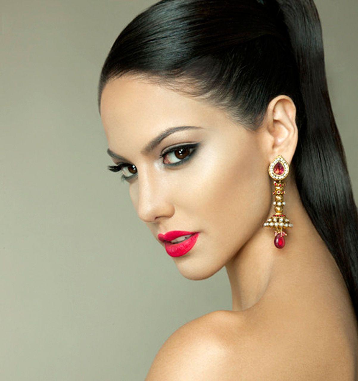 Panama Carolina Brid Schönheit mädchen, Make up looks
