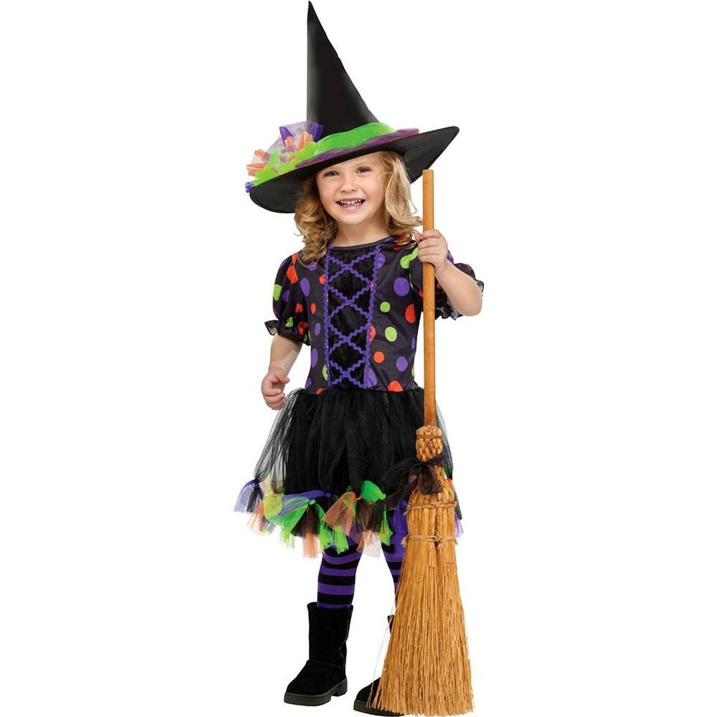 Polka Dot Witch Toddler Costume | Toddlers, Products and Costumes