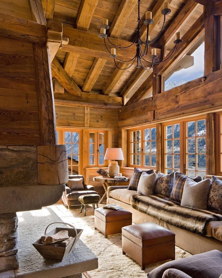 Myhouseidea Architecture Homes Inspirations And More Chalet Design Rustic House Chalet Interior