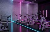 Ladies' Fitness Center Interior Design - Riyadh, Saudi Arabia - CAS  Ladies' Fitness Center Interior...
