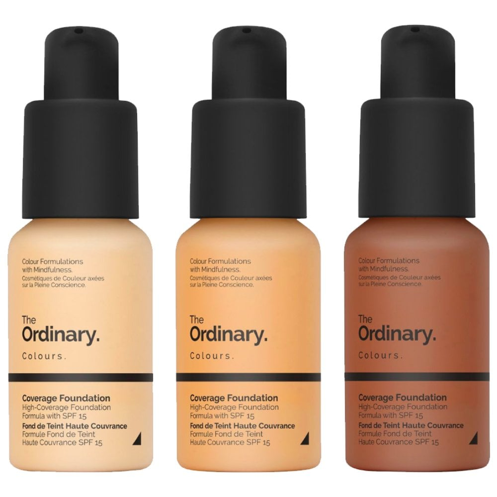 The Ordinary Coverage Foundation SPF15 30ml Coverage