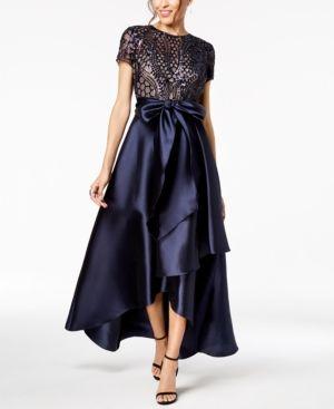R/&M Richards Women/'s Embellished Dress
