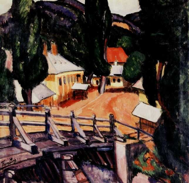 Lajos Tihanyi Paysage