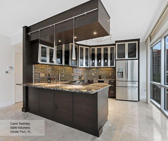 Contemporary Walnut Kitchen Cabinets  Omega  Home  Pinterest Cool Contemporary Kitchen Cabinets Review