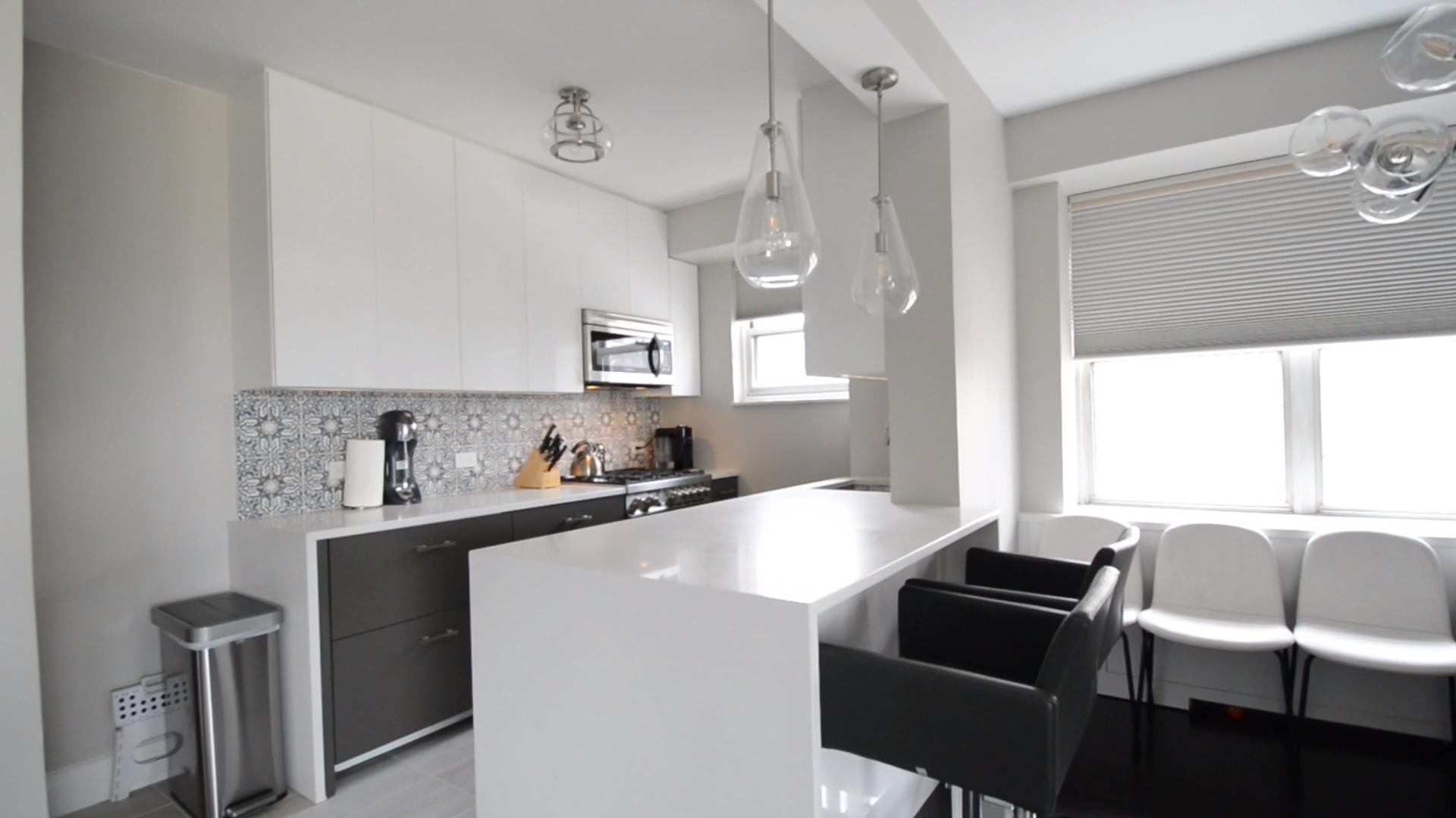 Photo of Moderna ristrutturazione della cucina aperta