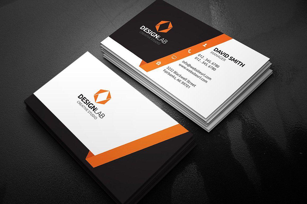 Modern Creative Business Card Business Cards Creative Visiting Card Design Business Card Design