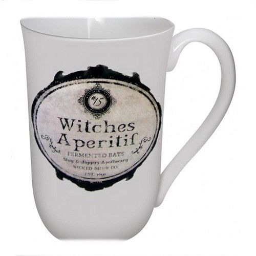 Witches Aperitif beker Wit – Fantasy – Nemesis Now