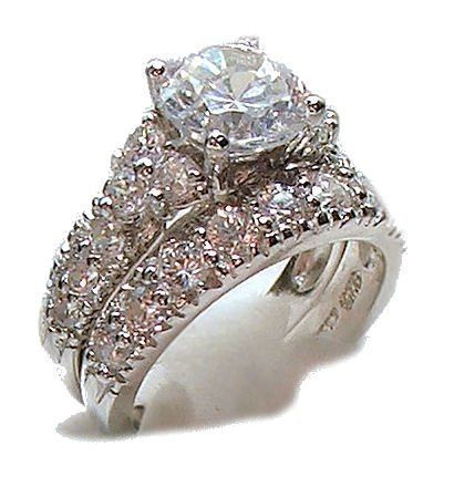 I love the color of these One Day Pinterest Bridal ring