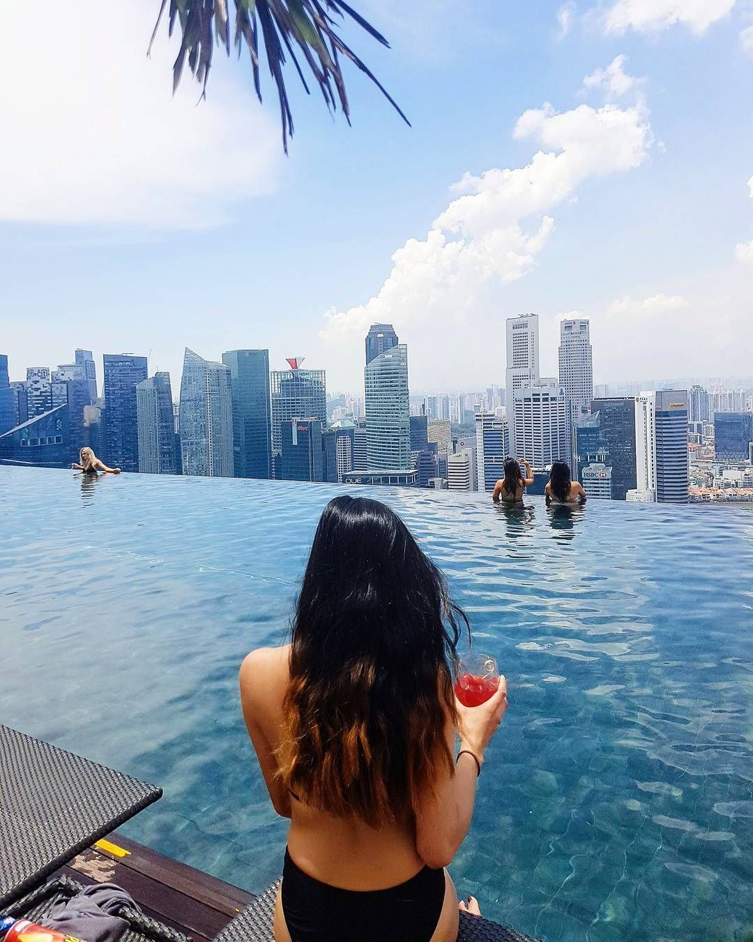 Marina Bay Sands Rooftop Infinity Pool Singapore Photos Sands
