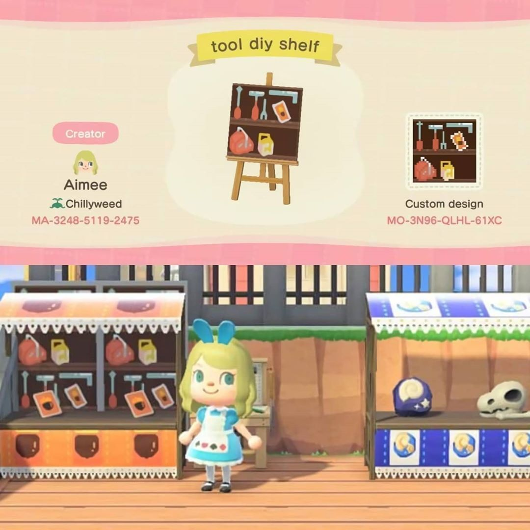 """Animal Crossing ACNH codes on Instagram """"DIY and Fossil"""