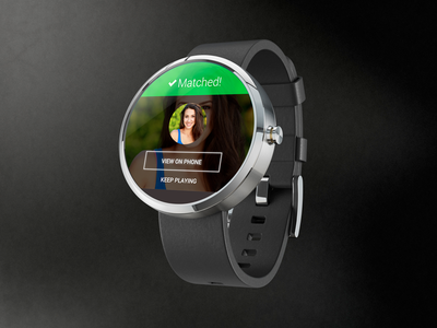 Zoosk Android Wear Android wear, Smart watch, Dating
