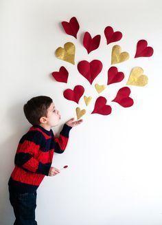 DIY Ombre Valentine's Day Tree