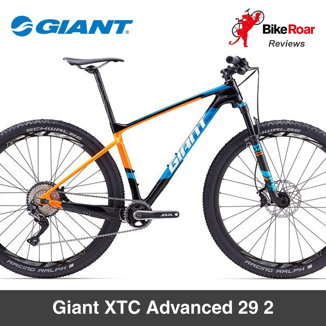 f3579c706c4 29 inch wheels and an option for make this versatile hardtail a perfect  choice for varied off-road adventures. REVIEW: Giant XTC Advanced 29 2 ...