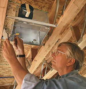 Master Carpenter How to Wire a Bathroom In this video