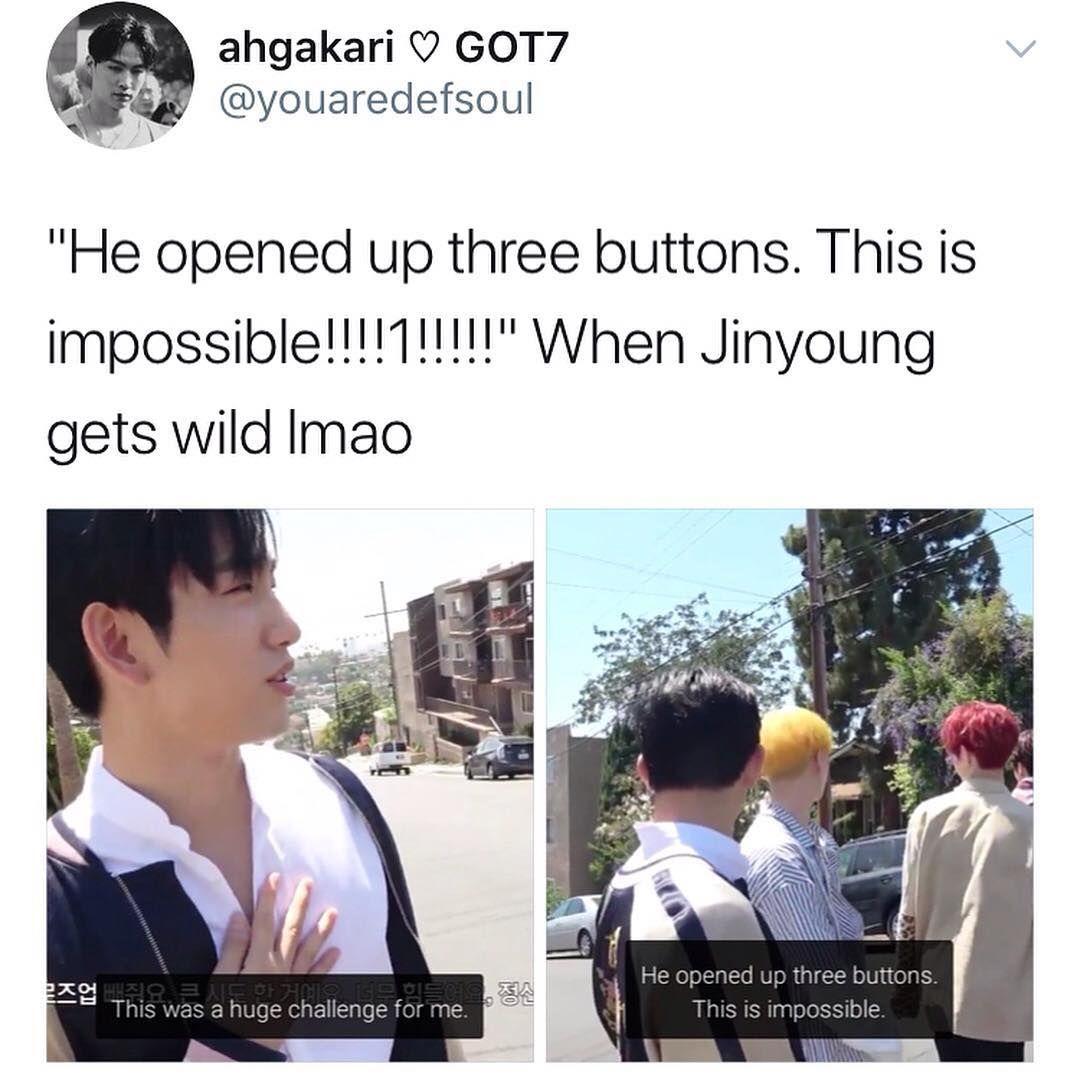 809 Likes 2 Comments Got7 Memes Ongoing Ga Got7 Memes On Instagram Wow Seriously Wowsoamajjing Tags Got7 Meme Got7 Jinyoung Got7 Funny