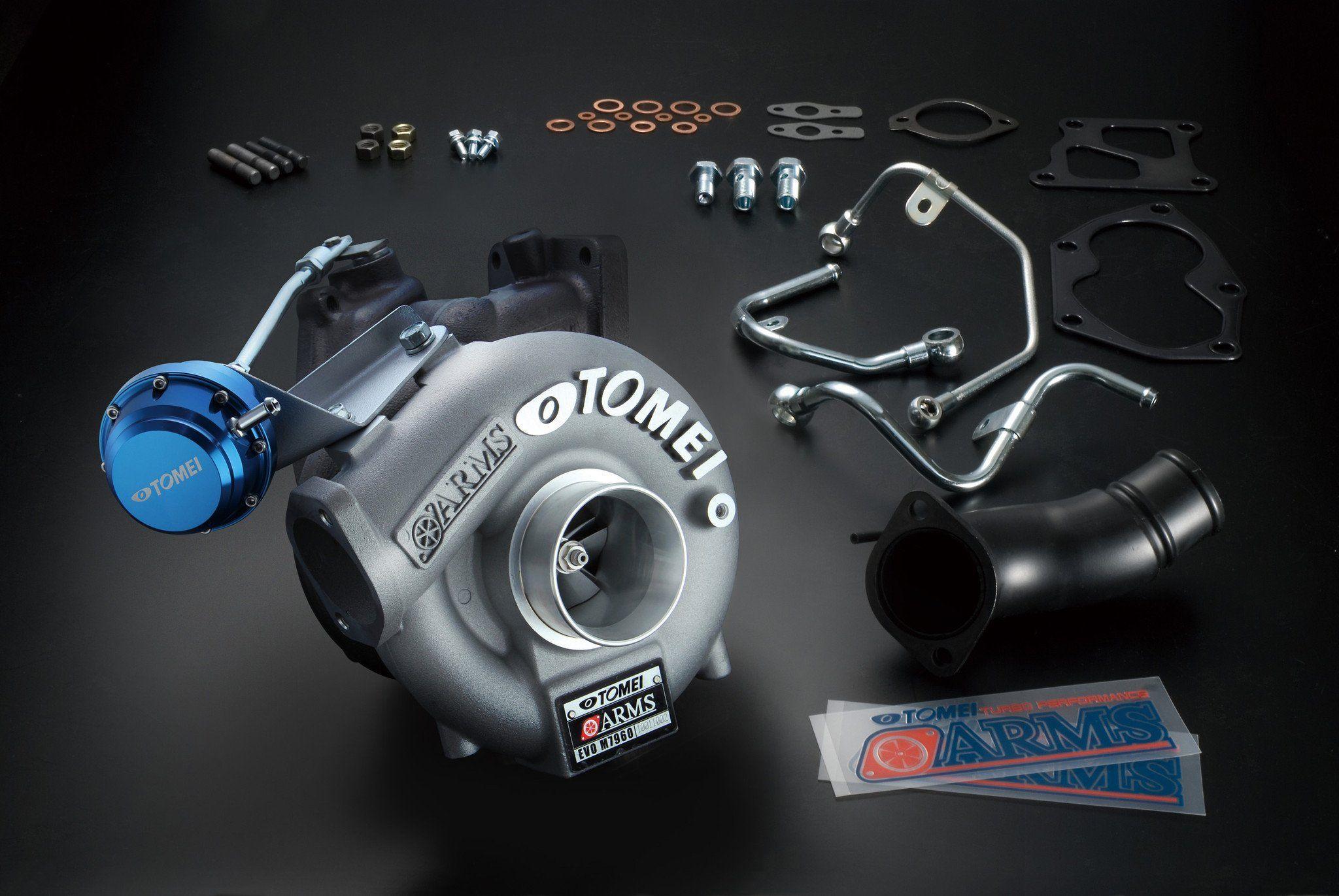 Arms m7960 turbo kit 4g63 evo 4-9 by tomei   Mitsubishi Evolution