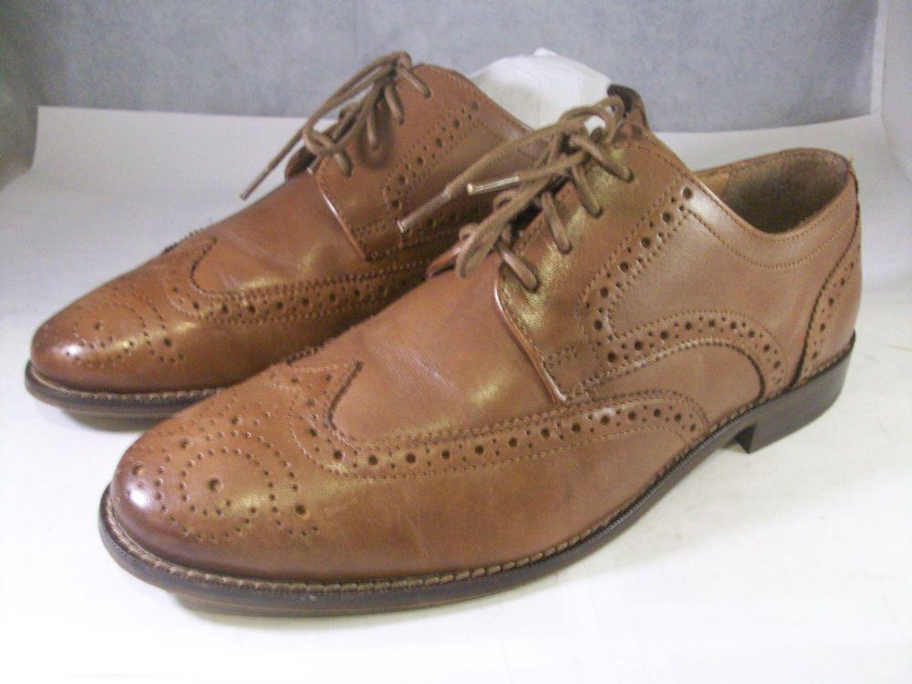 68d4b7c3391 FLORSHEIM MEN S MARINO WINGTIP OXFORD (11588) SADDLE TAN LEATHER 7.5 MED   110 M  fashion  clothing  shoes  accessories  mensshoes  dressshoes (ebay  link)