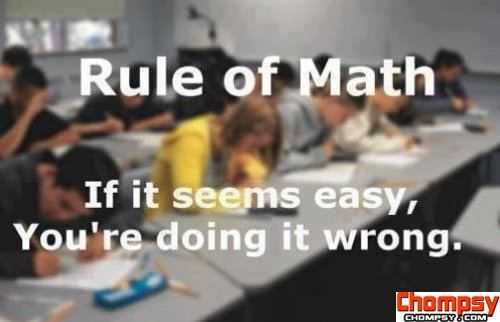 This is what I live by in my stats class....