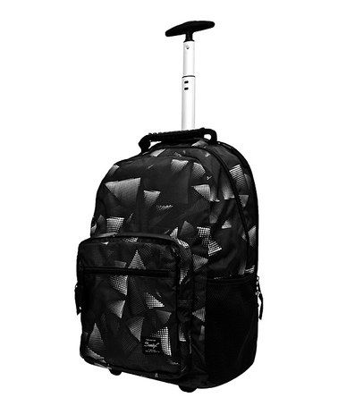 Look what I found on #zulily! Black Newport Trolley Rolling Backpack #zulilyfinds
