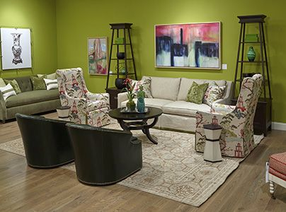 Wesley Hall Furniture   Hickory, NC   Showroom Tour   Official Website    The Green