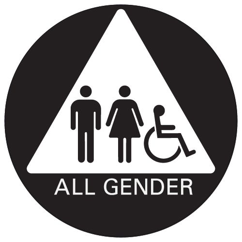 Pin On Ada Gender Neutral Signs From Stop Signs And More