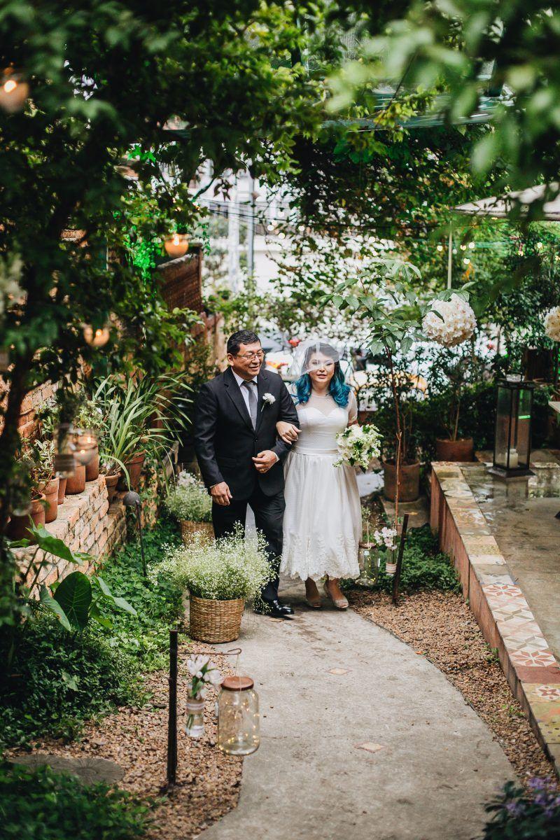 O Casamento Romântico E Retrô De Dani E Raul Casamento