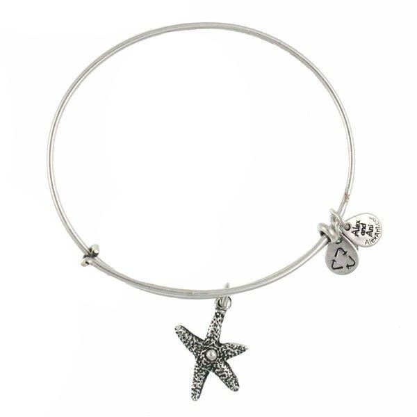 Alex And Ani Starfish Bracelet Silver Never Worn Jewelry Bracelets
