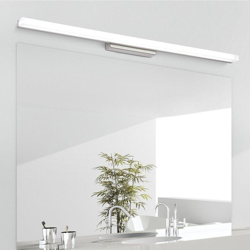 Led Bathroom Mirror Anti Fog Linear Lamp Aliexpress Modernbathroomlighting Modern Bathroom Lighting Modern Bathroom Light Fixtures Bathroom Mirror Lights
