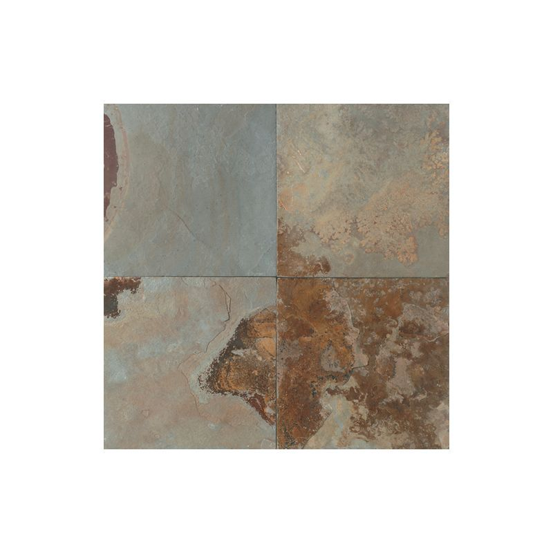 "Daltile S780-16161P-SAMPLE Slate Imperial Forest 16"" x 16"" Natural Cleft Stone M Imperial Forest Tile Sample"