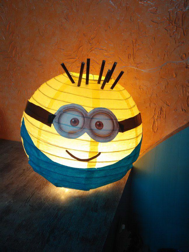 diy minion lantern art pinterest basteln minion laterne und basteln mit kleinkindern. Black Bedroom Furniture Sets. Home Design Ideas