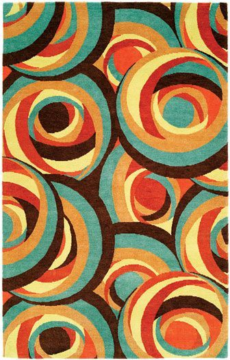 M&M Design International - Spiral Spiral wool rug by M&M Design ...