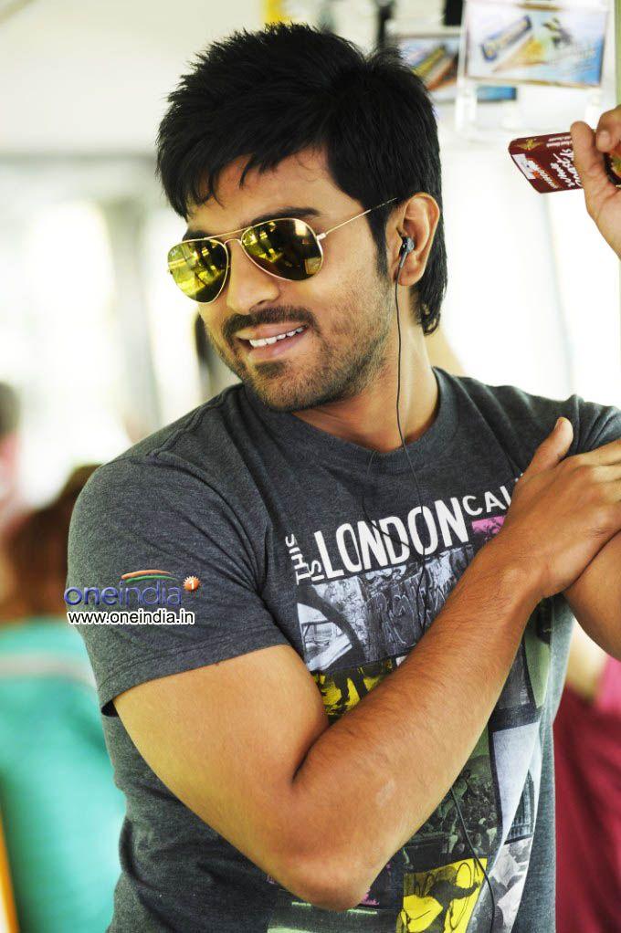Ram Charan Teja Orange Tollywood Telugu Actor Photo Dj Movie Cool Short Hairstyles