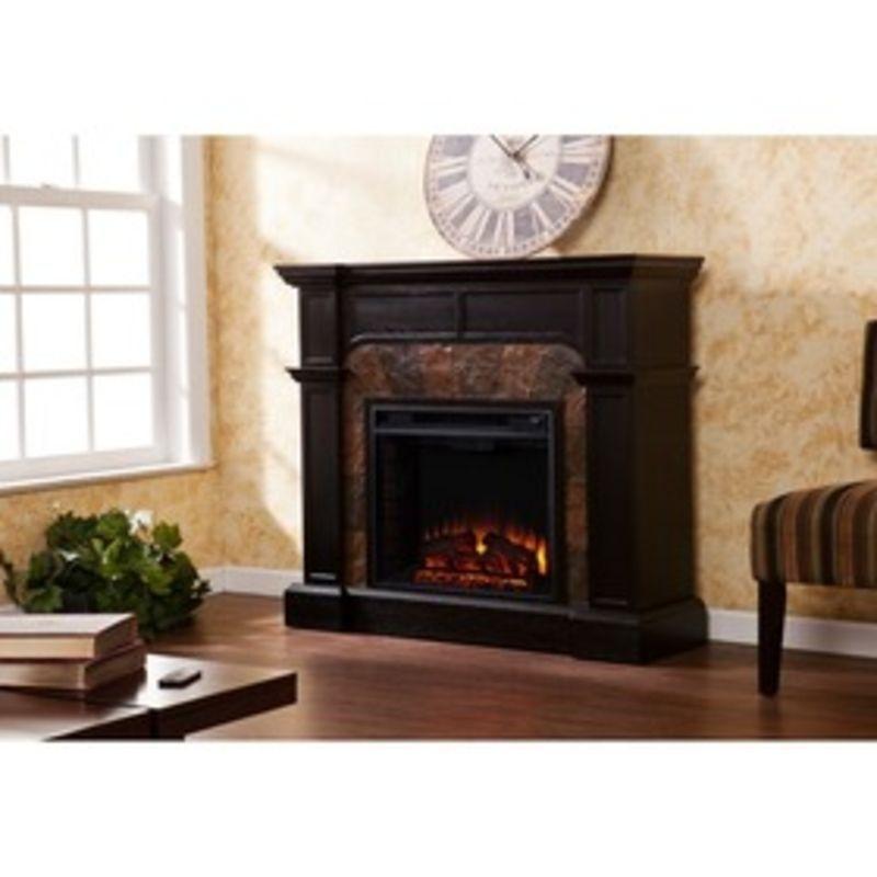 Southern Enterprises Cartwright Convertible Electric Fireplace - Ebony FE9288 #SouthernEnterprises