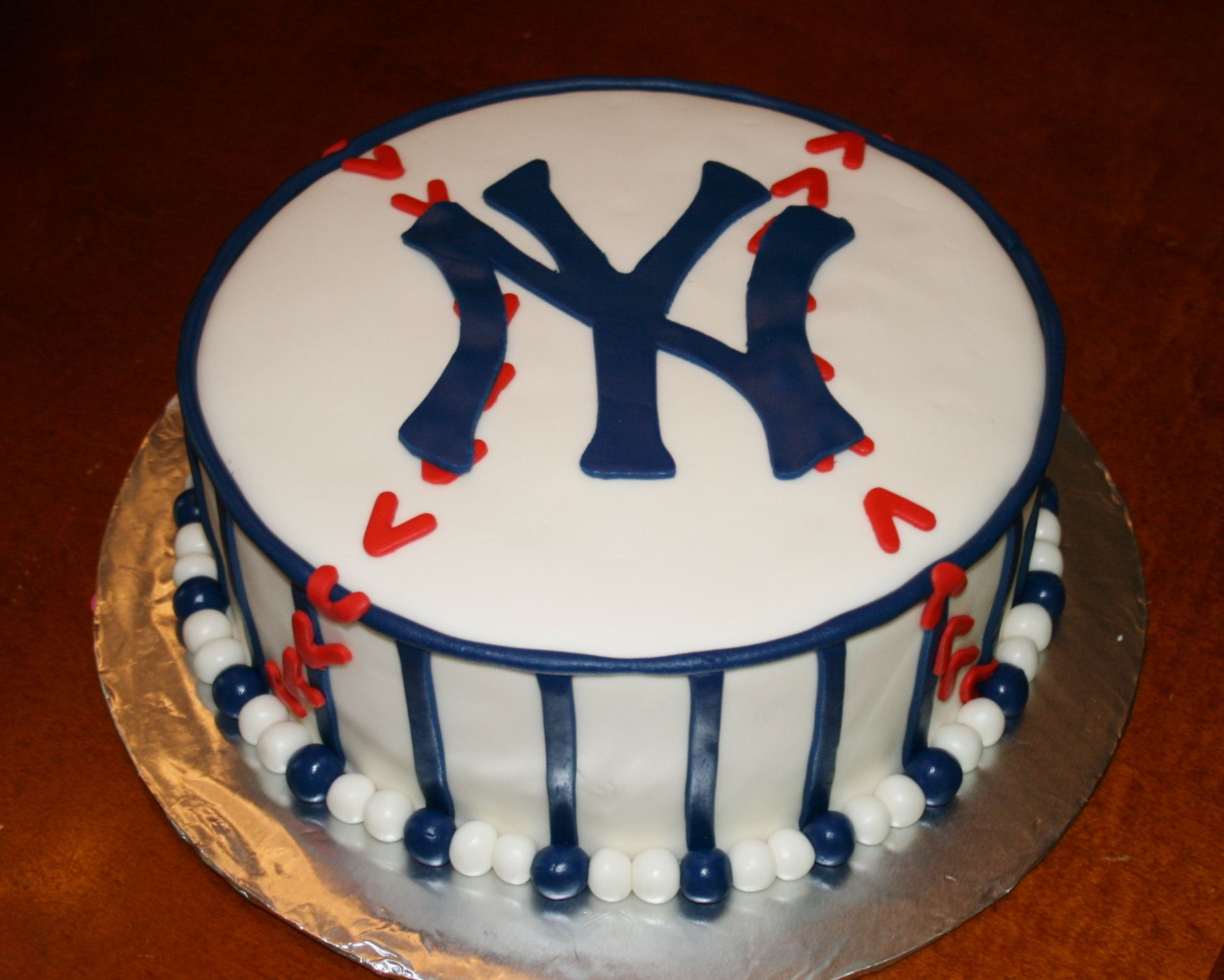 Ny Yankees Cake By Kb Cakes Kbcakes