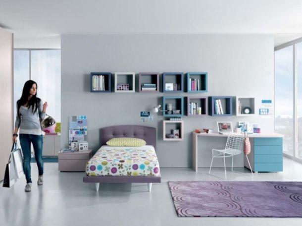Merveilleux Lavender Room Design   12 Cool And Modern Teen Room Ideas