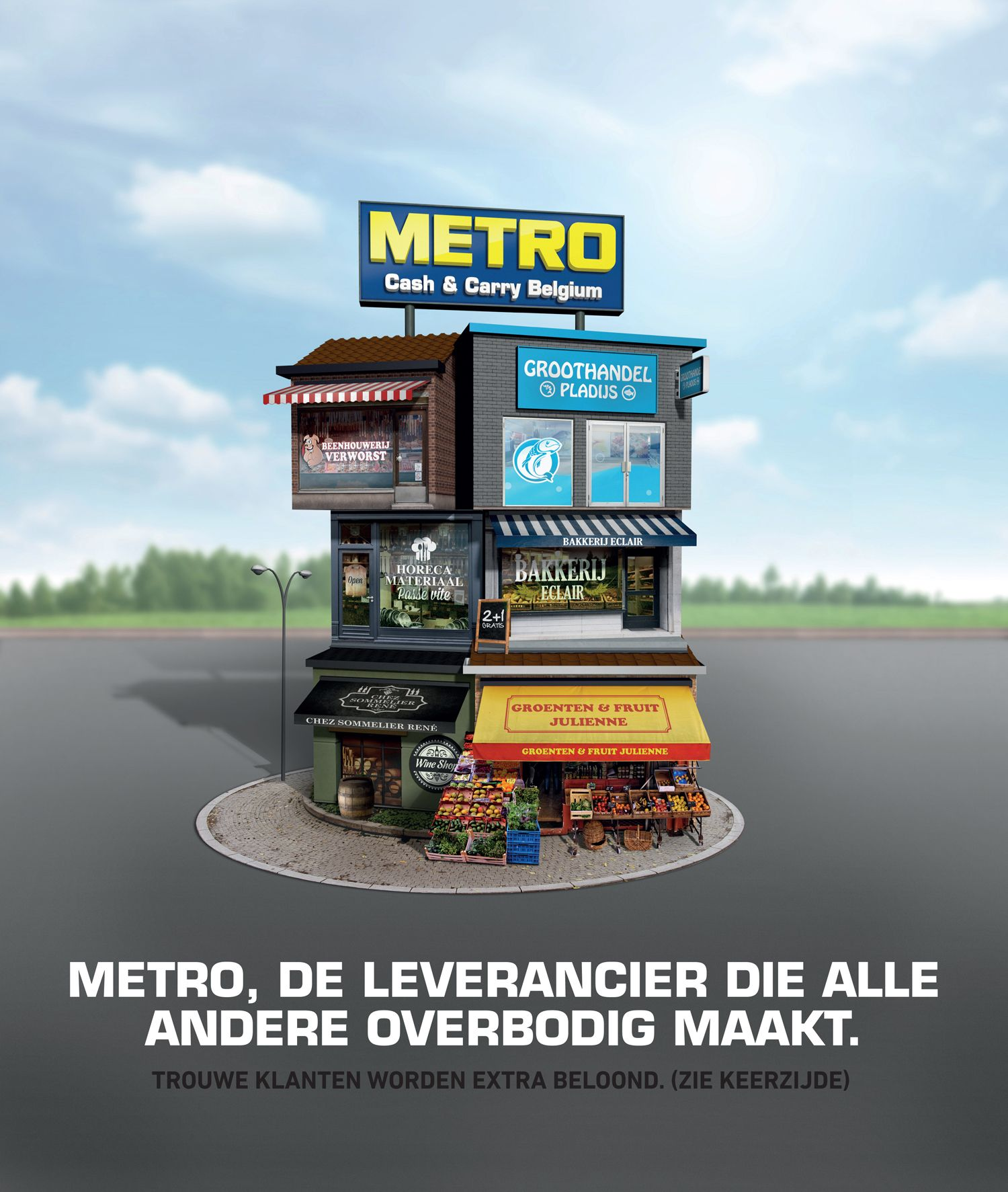 Leaflet Cover Metro Alles Onder 1 Dak Previous Work Fruit