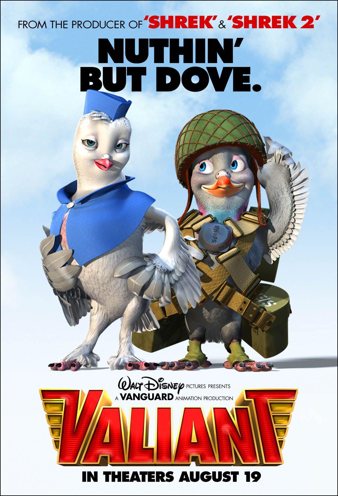 valiant Walt disney pictures, Animated movies, Disney